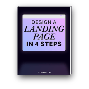 Design a Landing Page in 4 Steps