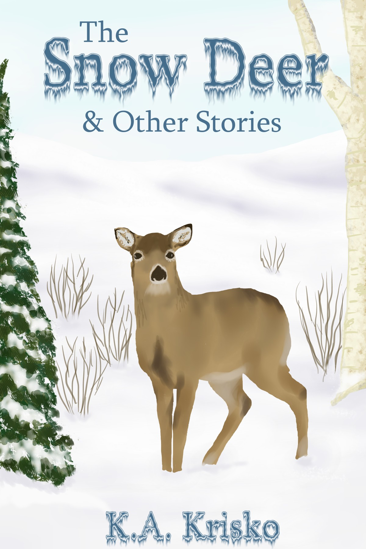 Cover of book The Snow Deer