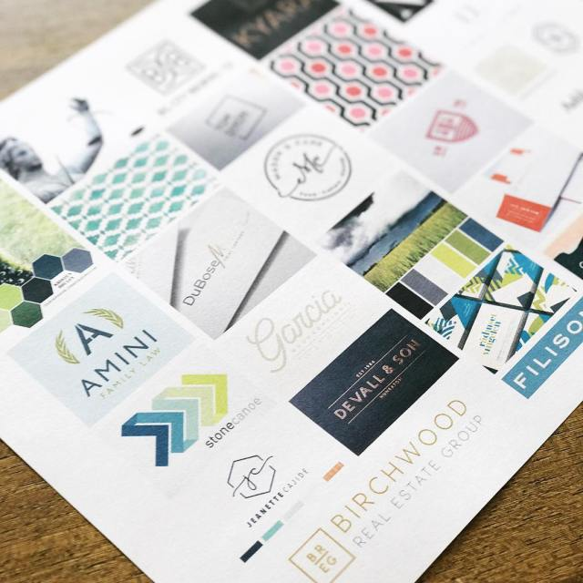 Mood boards make me happy! I feel typography driven withhellip