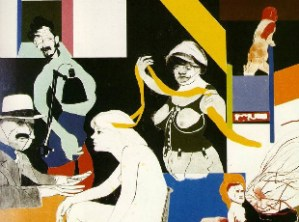 Ron Kitaj, Ohio Gang, 1964