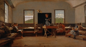 "Winslow Homer, ""The Country School"" (1871), Courtesy: Saint Louis Art Museum"