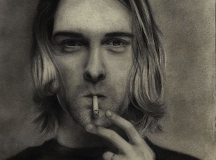 """"""" 'I want to be rich and famous and kill myself like Jimi Hendrix' ... These were the eerily prescient words of a 14-year-old Kurt Cobain."""""""