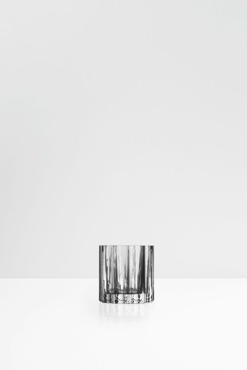 Fris glass candle holder
