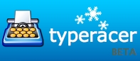 TypeRacer Winter Logo