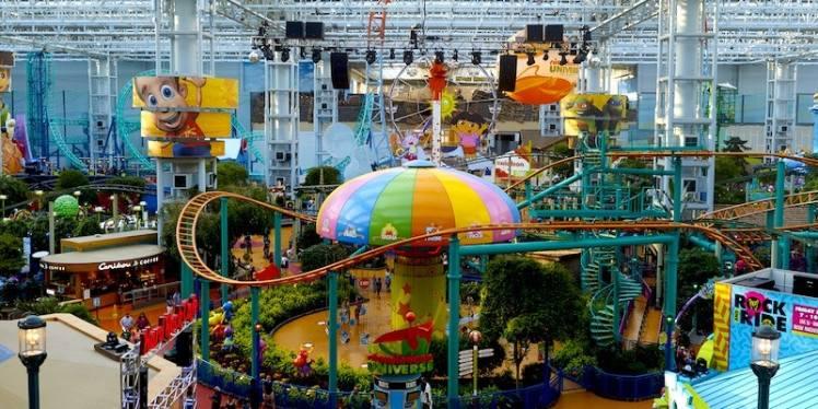 Nickelodeon Universe New Jersey