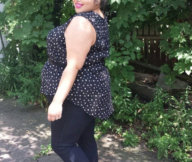 Plus Size Women Rocking Their Visible Belly Outlines In Flawless Fashion Photos
