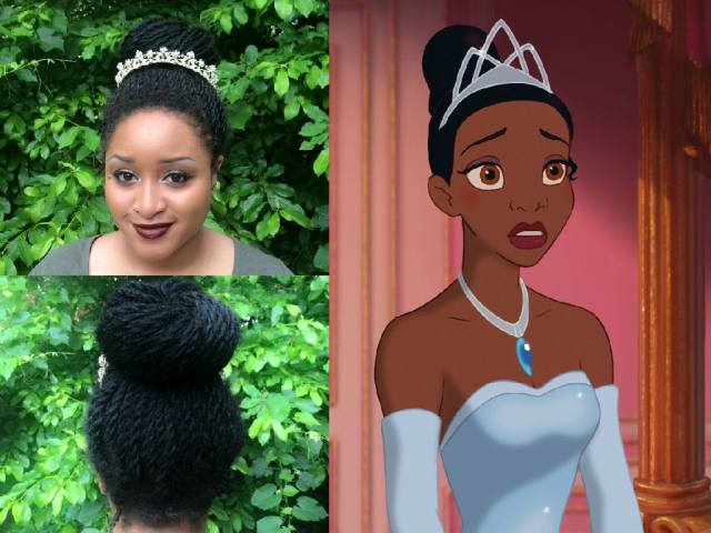 i recreated disney princess hairstyles with senegalese