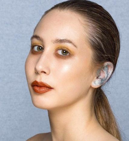 Image result for ear makeup