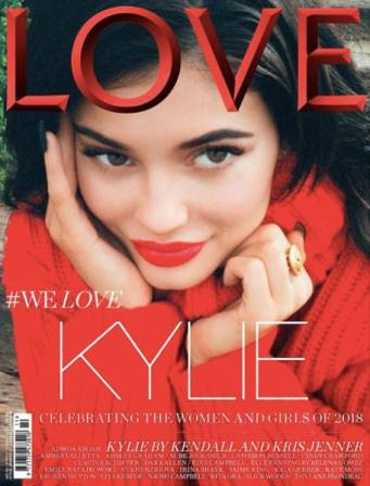 Kylie Jenners LOVE Magazine Cover Was Shot By Kendall