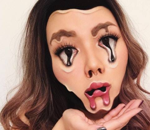 This Optical Illusion Makeup Artists Looks Will Make You