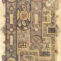 Illuminated Manuscript Irish Celtic Knotwork