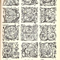 Initial Letters From The Westminster Press London c1925