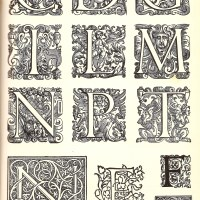 Initial Letters from the Westminster Press, London, c1925