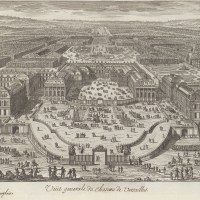 Adam Perelle | Veüe generale du chateau de Versailles