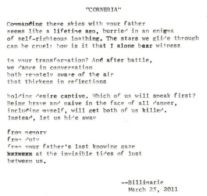 """Corneria"" by billimarie"