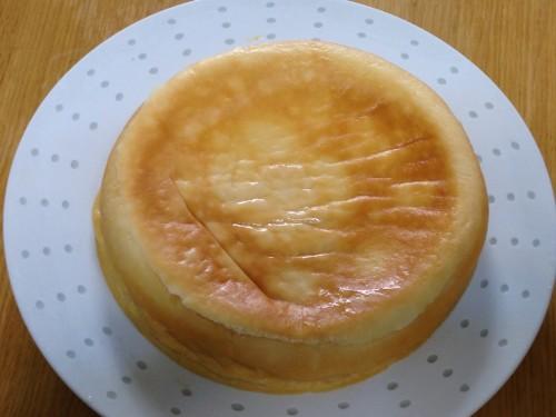 炊飯器でチーズケーキ(全体)