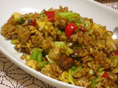 回鍋肉炒飯(ホイコーローチャーハン)