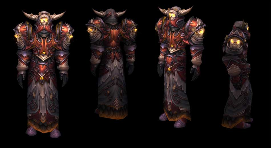 Death Knight Tier 14, dress wearer's set