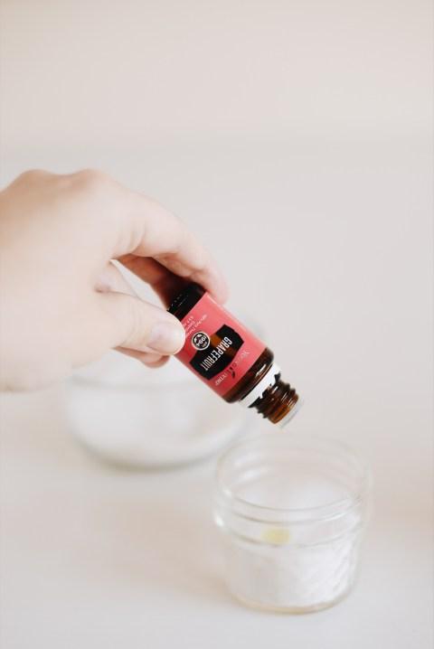 diy essential oil hand scrub