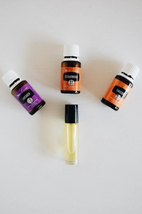 diy essential oil sleep roller