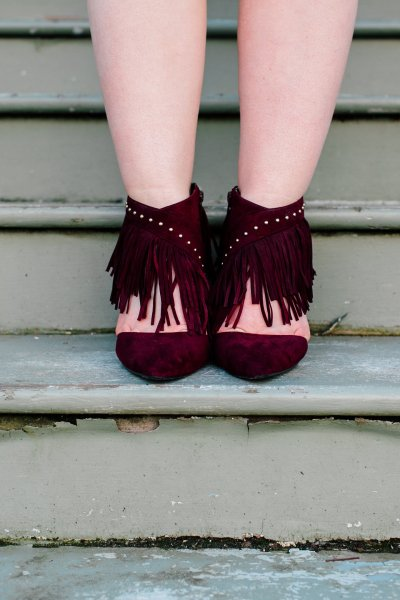 spring addiction: fringe shoes