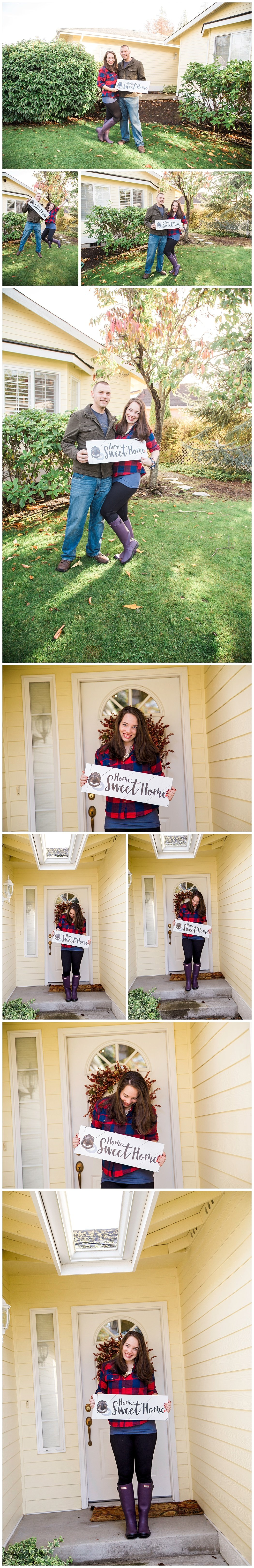 home sweet home sign new house