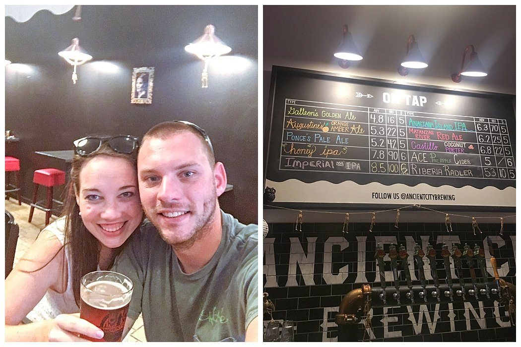 one day in st. augustine travel guide ancient city brewing