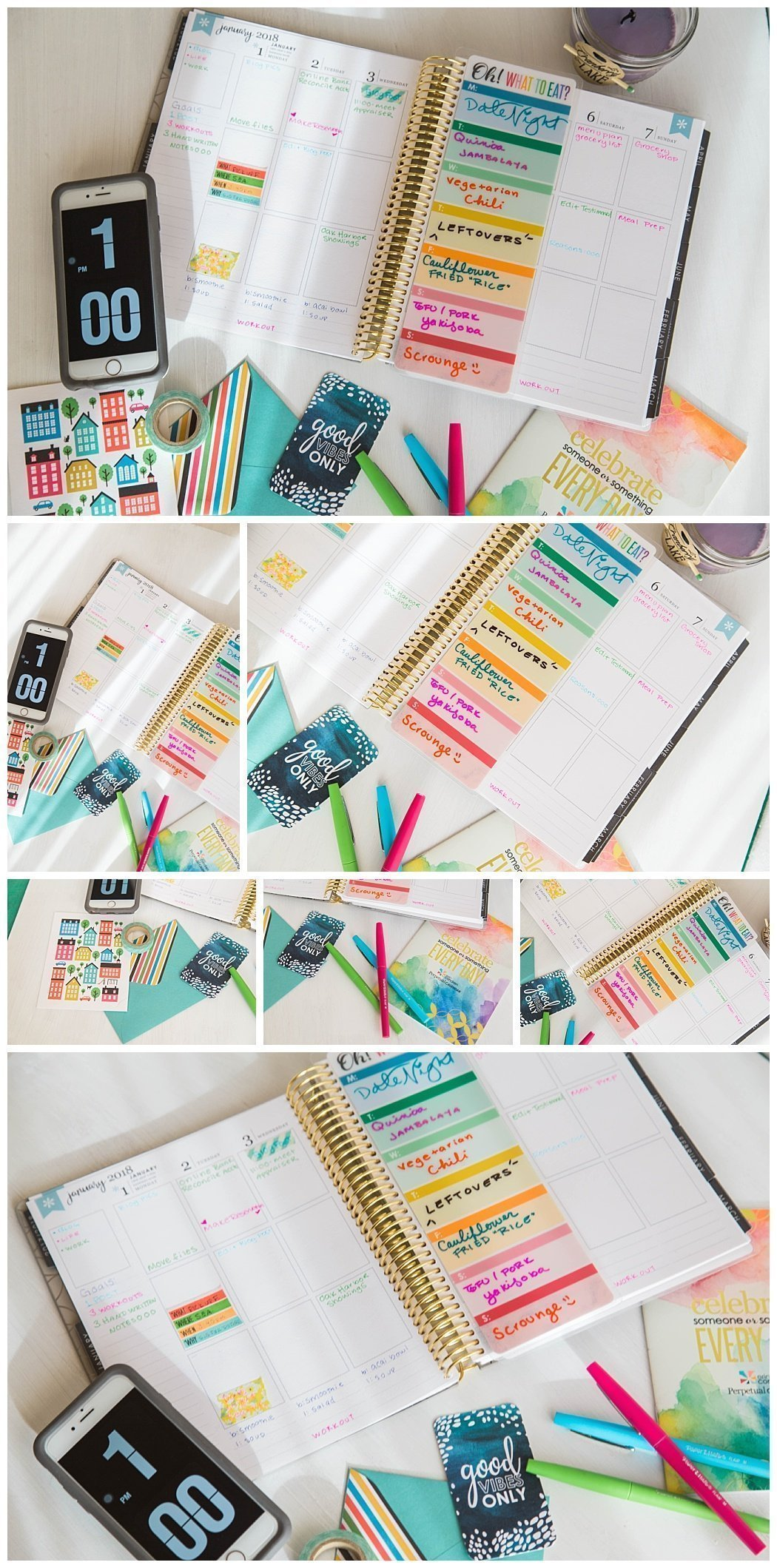 How to use an Erin Condren Life Planner and Review