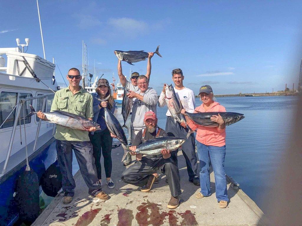 deep sea fishing washington state tuna
