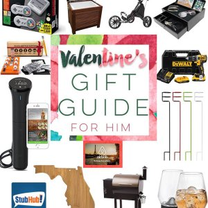 valentines day gift guide for him, gifts for boyfriend, fiance, fiancé, husband