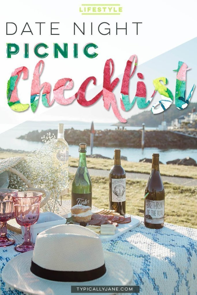 date night picnic checklist