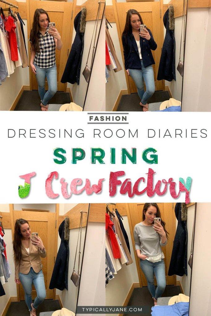 dressing room diaries j crew factory try on session spring outfits 2019, spring outfit, outfit ideas, cute outfits for women