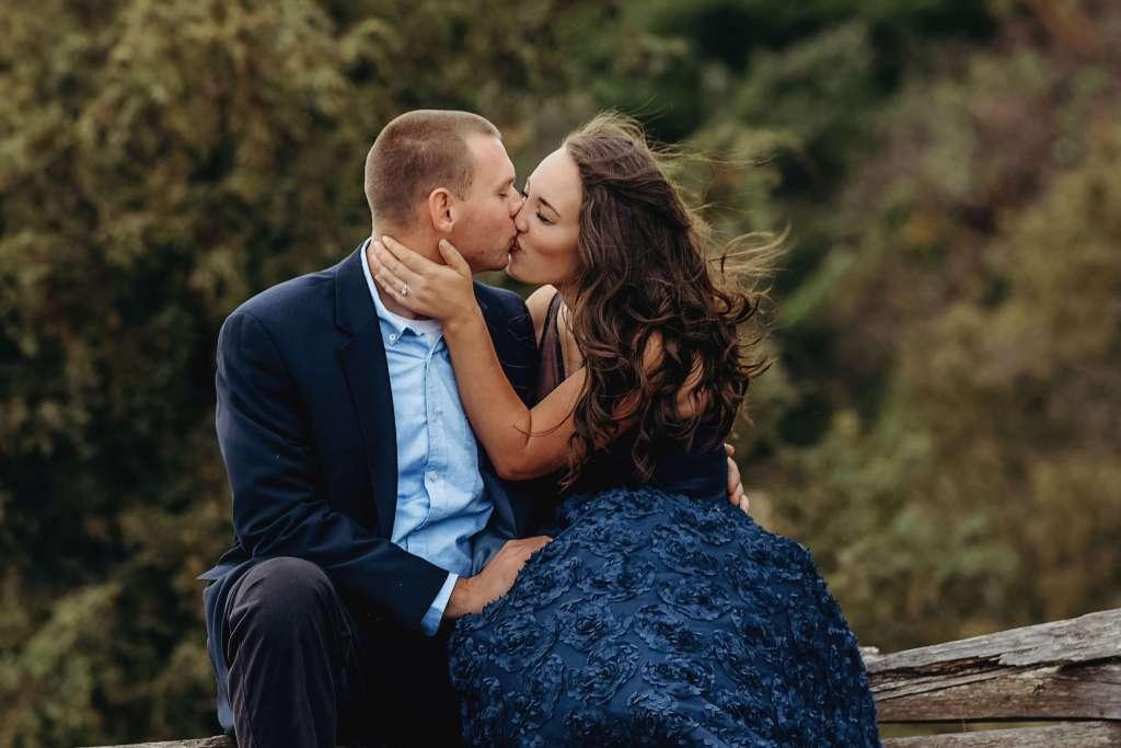 engaged couple photography