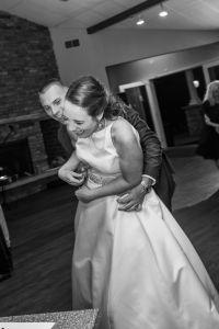 groom tickling bride at wedding, must do wedding shot