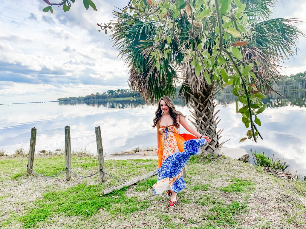 Florida outfit ideas, maxi dress, summer outfit ideas, Jacksonville Naval Base