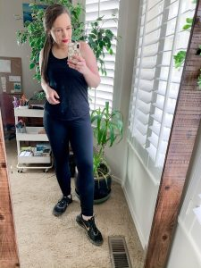crz yoga workout top from amazon