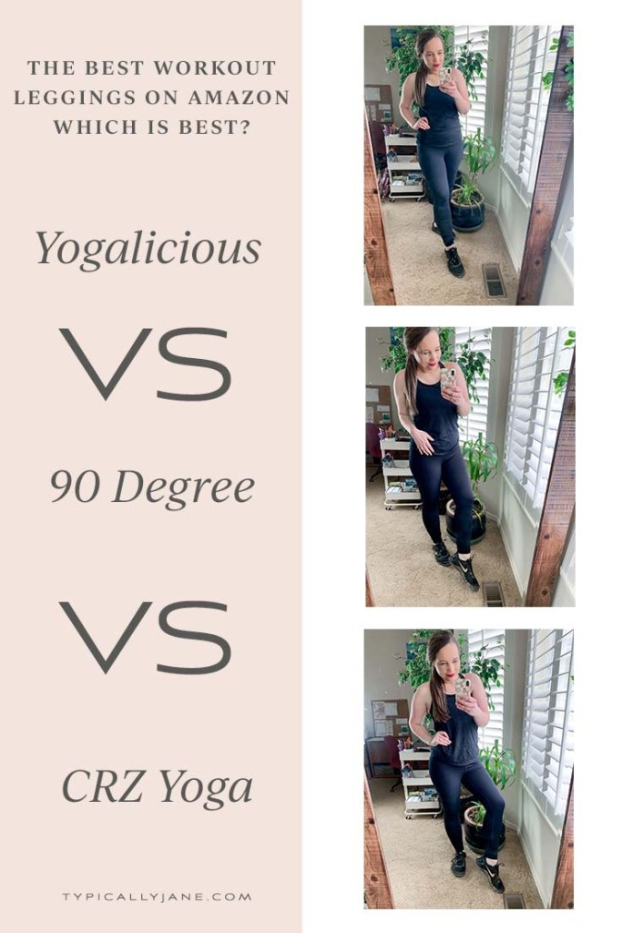 If you ask someone what the best workout leggings on Amazon are, you are likely to hear one of three answers, Yogalicious, 90 Degrees or CRZ Yoga. But which pair really is the best? We trieed them all out to leet you know.