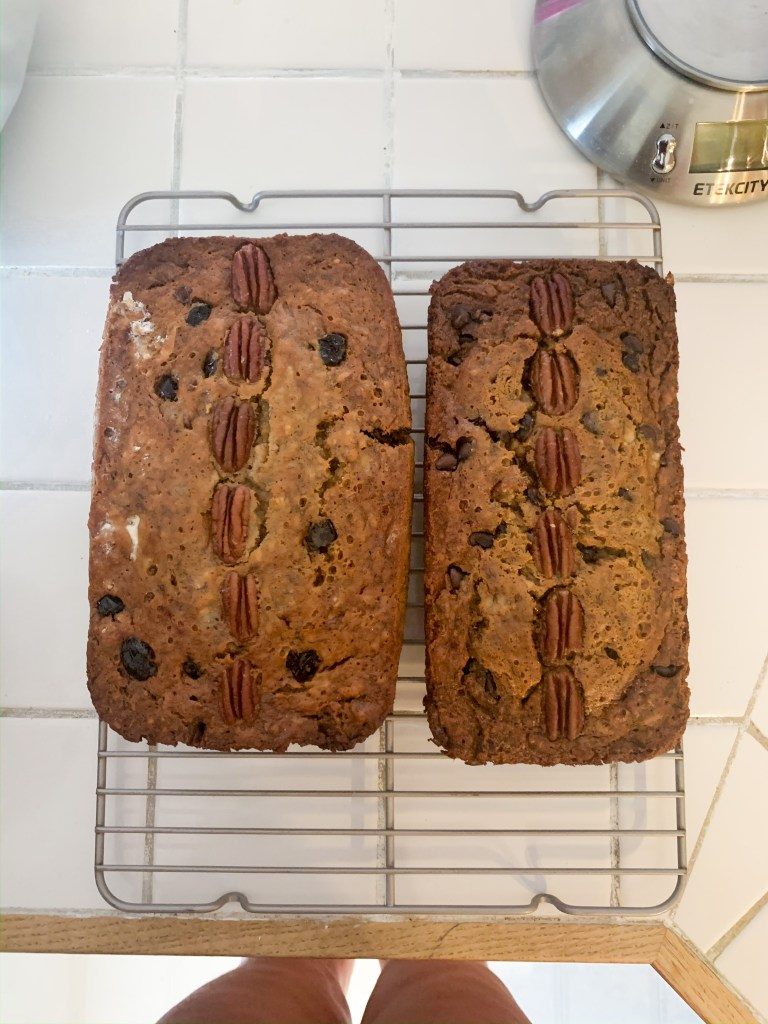 banana bread two ways