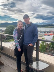 rooftop bar at The Majestic in Anacortes, WA