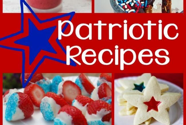 20 Patriotic Recipes {roundup}