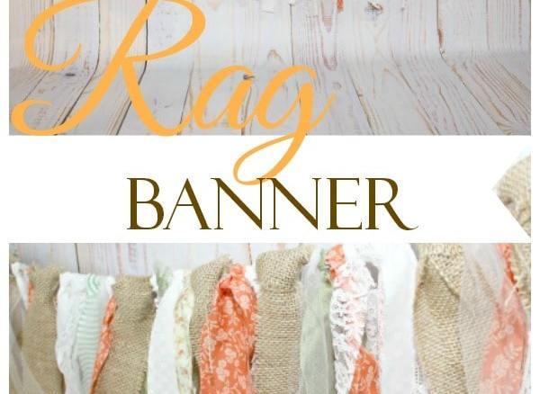DIY Rustic Rag Banner