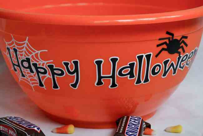 Halloween Candy Bowl