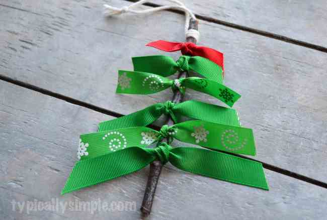 Ribbon Tree Ornaments