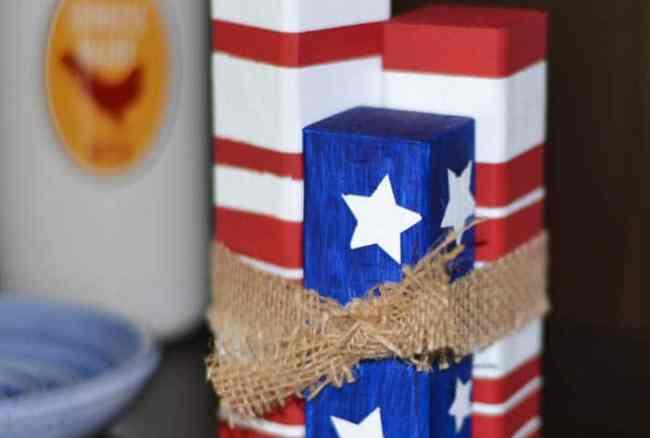Patriotic Scrap Wood Project