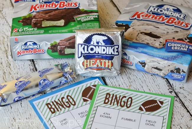 Football Bingo with Klondike {Free Printable}