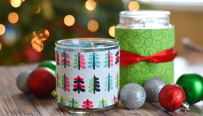 Fabric Candle Cozy Sewing Tutorial