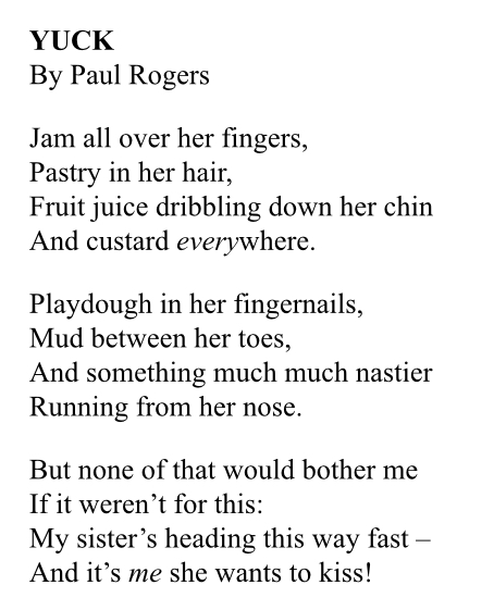 Yuck by Paul Rogers