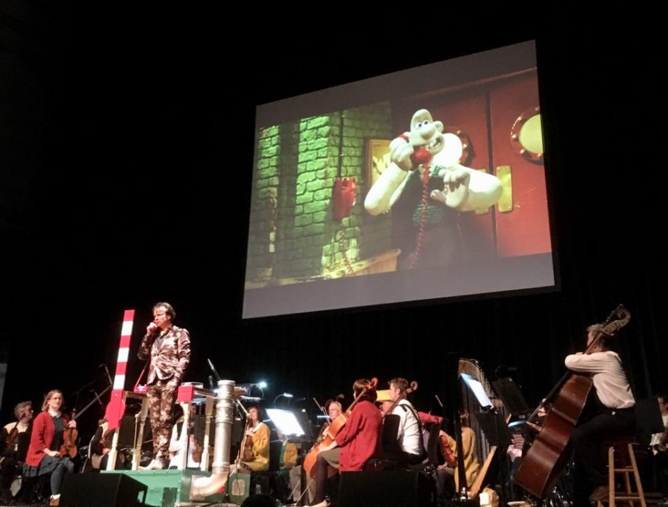 Matthew Sharp in Action - Wallace & Gromit's Musical Marvels