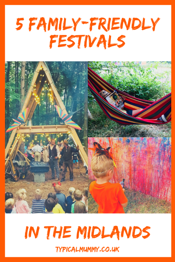 5 Family-Friendly Festivals in the Midlands Pin 2 - Typical Mummy