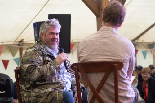 Phill Jupitus at Timber Festival (credit Andrew Allcock)